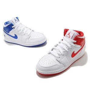 "🔵🔴⚪️*NEW* Air Jordan 1 Mid ""85"" (GS)"
